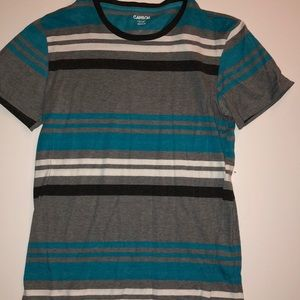 Carbon Striped Tee
